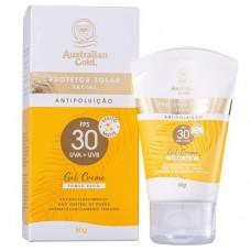 Protetor Solar Facial Gel Creme Fps 30 Australian Gold 50G