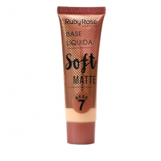 Base Líquida Soft Matte Bege 7 - Ruby Rose