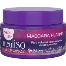 Salon Line Meu Liso #loiroplatinado Mascara Platina 300g